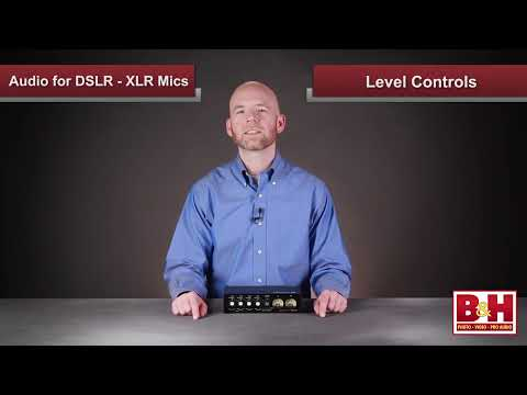 Audio for DSLR Part 2 - XLR Mics