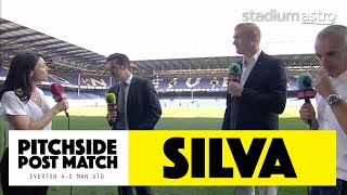 PITCHSIDE: Silva post match reaction | EPL Highlights | Astro SuperSport
