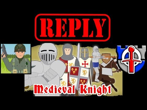 REPLY to Simple History, The Medieval Knight