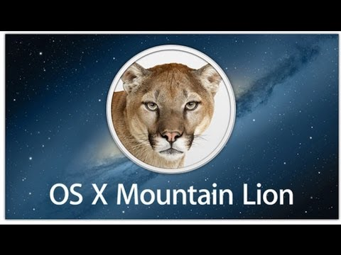Demo: Mac OS X Mountain Lion