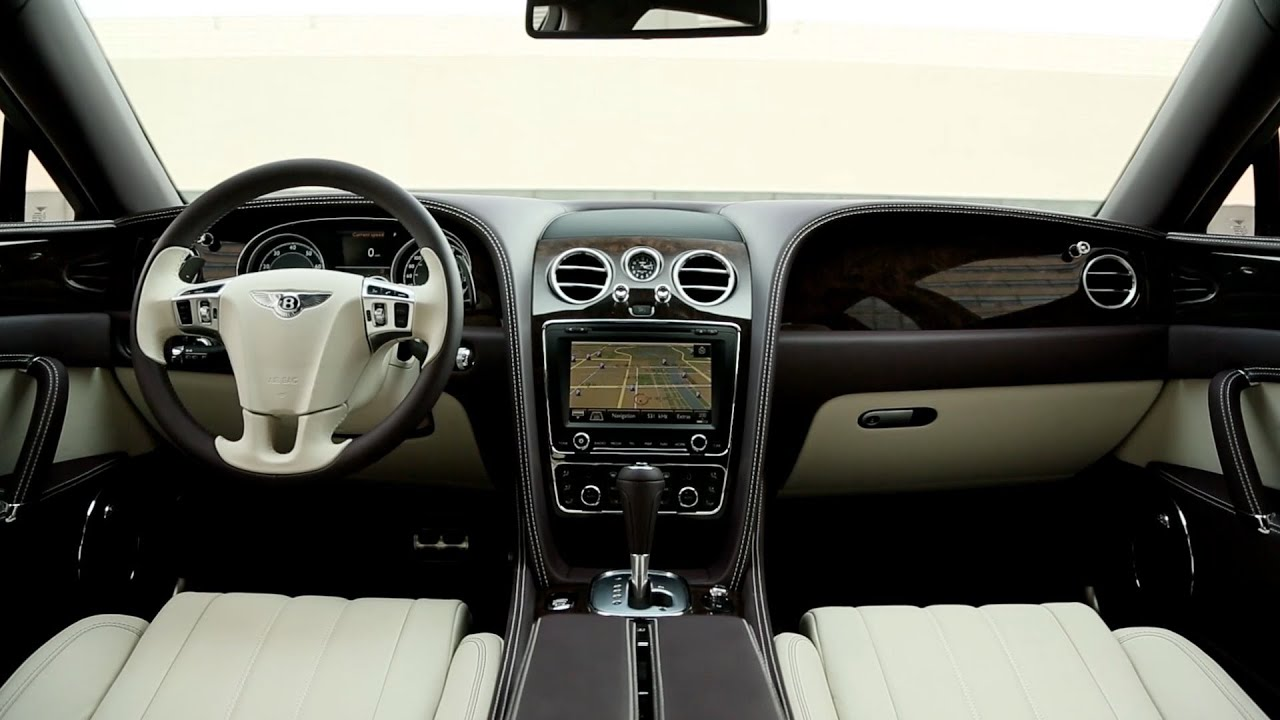 2014 Bentley Flying Spur Interior Youtube