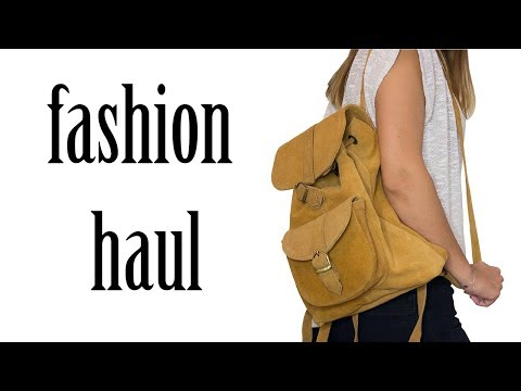 Try On Fashion Haul | Olga