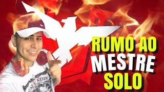🚩RANKEADA DO MESTRE SOLO  - SÓ HS - FREE FIRE AO VIVO🔴