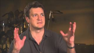 Nathan Fillion Discusses voicing Green Lantern