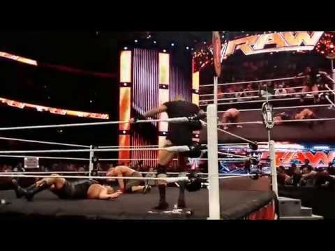 Wwe Randy Orton Returns After Raw 12 29 14 video