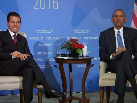 Obama, Nieto Talk Turkey, Immigration in Canada