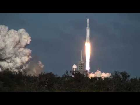Falcon Heavy Thunders Into Orbit: Feel the ROAR!