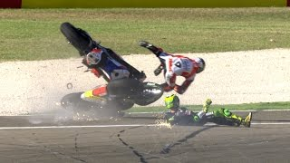 Most spectacular crashes and wobbles of the year