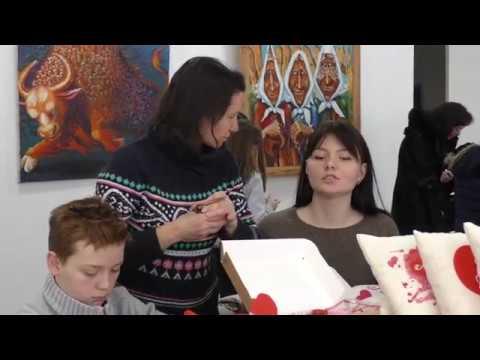 Для дворічного онкохворого Іванка Бакланова збирали гроші на ярмарку ручної роботи