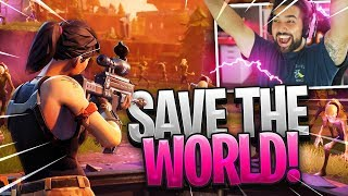 ITS SO DIFFERENT..!! Playing Fortnite: Save The World..