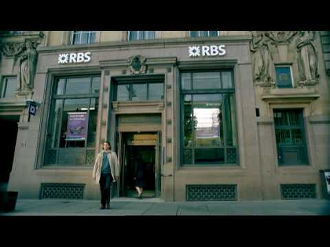 Royal Bank of Scotland ad