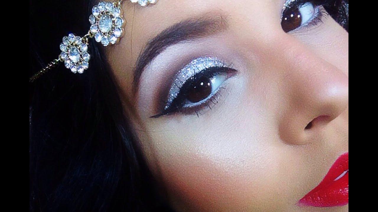 halloween look great gatsby flapper hair amp makeup