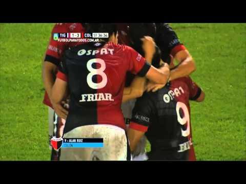 A domicilio: Colón goléo a Tigre y avanzó en la Liguille Pre Sudamericana