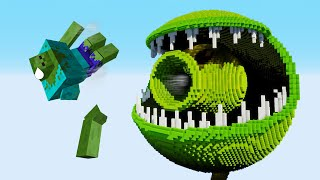 Minecraft vs PvZ – PEA POD | SNAP PEA