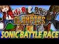 Minecraft: Benja & Bacca Olympics Game 1 - Sonic Battle Race!