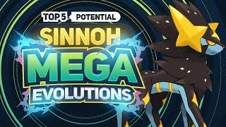 Top 5 Potential SINNOH MEGA Evolutions
