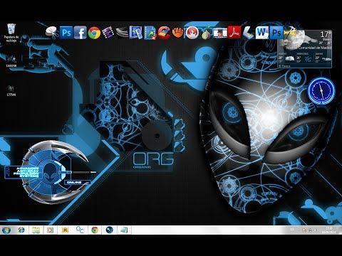 Personalizar Mi Escritorio Estilo Futurista Windows 8,Windows 7 y Xp (Full Español HD)