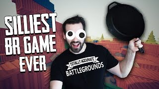 The Silliest BR Game There Is! w/ Ohmwrecker (Totally Accurate Battlegrounds)
