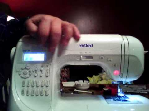 Brother Sewing Machine Review and Demo. Model PC-420.