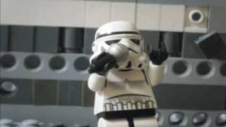 LEGO star wars stormtroopers singing abba s super trouper song