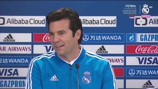 Kashima - Real Madrid Rueda de prensa de MARCELO y SOLARI (18/12/2018) - Mundial de Clubes