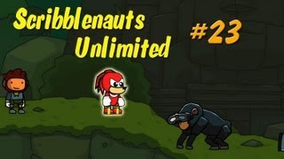 Scribblenauts Unlimited Wii U 23 Making Knuckles in the Object Editor