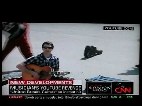 United Breaks Guitars - CNN Situation Room - Wolf Blitzer