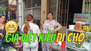 Giả Việt Kiều thong dong dạo chung cư Chợ Quán sáng sớm