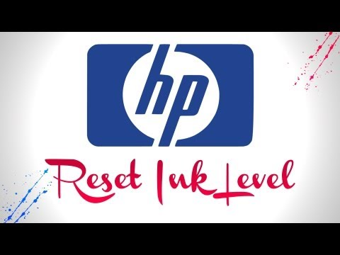 How to reset HP Ink Levels