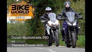 Ducati Multistrada 950 vs Yamaha Tracer 900