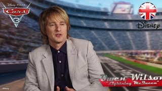 CARS 3   Owen Wilson and Cast Pay Tribute to the Legendary Lightning McQueen   Official Disney UK