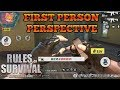 FIRST PERSON PERSPECTIVE? NEW GRENADE LAUNCHER + NEW MELEE WEAPON - Rules of Survival UPDATE