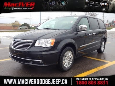 Jeep Chrysler Dodge Of Ontario >> 2014 Chrysler Town and Country Limited | MacIver Dodge Jeep | Newmarket Ontario - YouTube