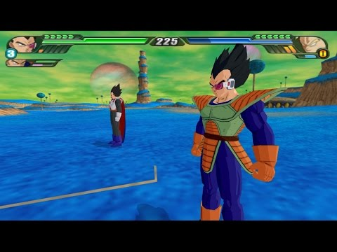 Vegeta and king Vegeta Fusion into the Ultimate Vegeta (DBZ Budokai Tenkaichi 3 Fusion mod)