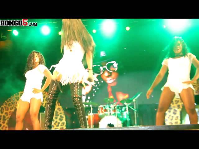 Vanesa Mdee akiafanya Show Fiesta Dar
