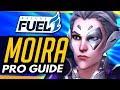 Overwatch   PRO MOIRA GUIDE ft Dallas Fuel CUSTAA