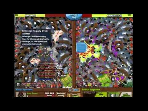 Bloons TD Battles: Snowy Castle Round 47!
