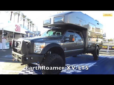 EarthRoamer XV-SLT diesel 4x4 expedition RV