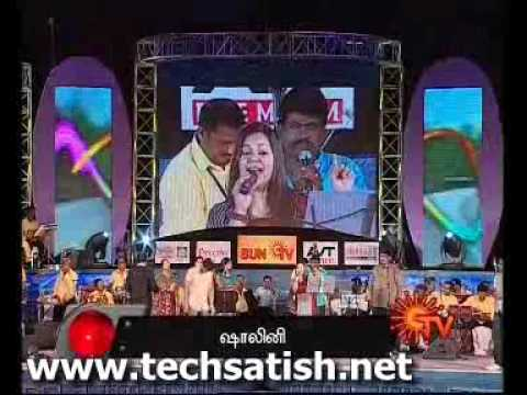 Fefsi Sun Tv Show Krish Performing Adiye Kolluthey Song video