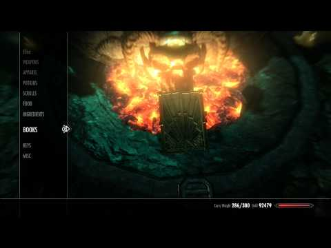 Skyrim - Atronach Forge Tutorials - Scroll Of Conjure Storm Atronach