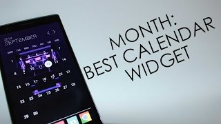 MONTH:Best Calendar Widget