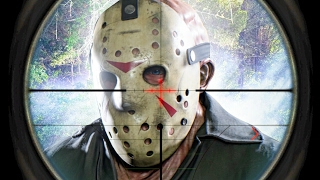 SHOOTING JASON IN THE FACE (Friday the 13th The Game)