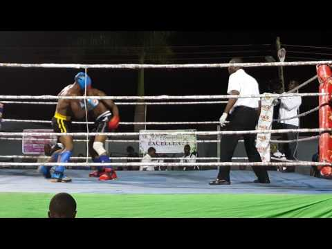Ghana Kickboxing.  Isaac Aikins(16)