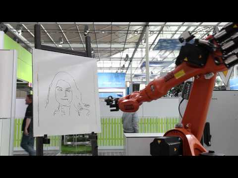 Fraunhofer s Portrait Robot at CeBIT
