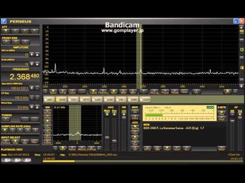 Radio Le Manamea Samoa 2368.48kHz (14 Jul 2013 1342UTC)