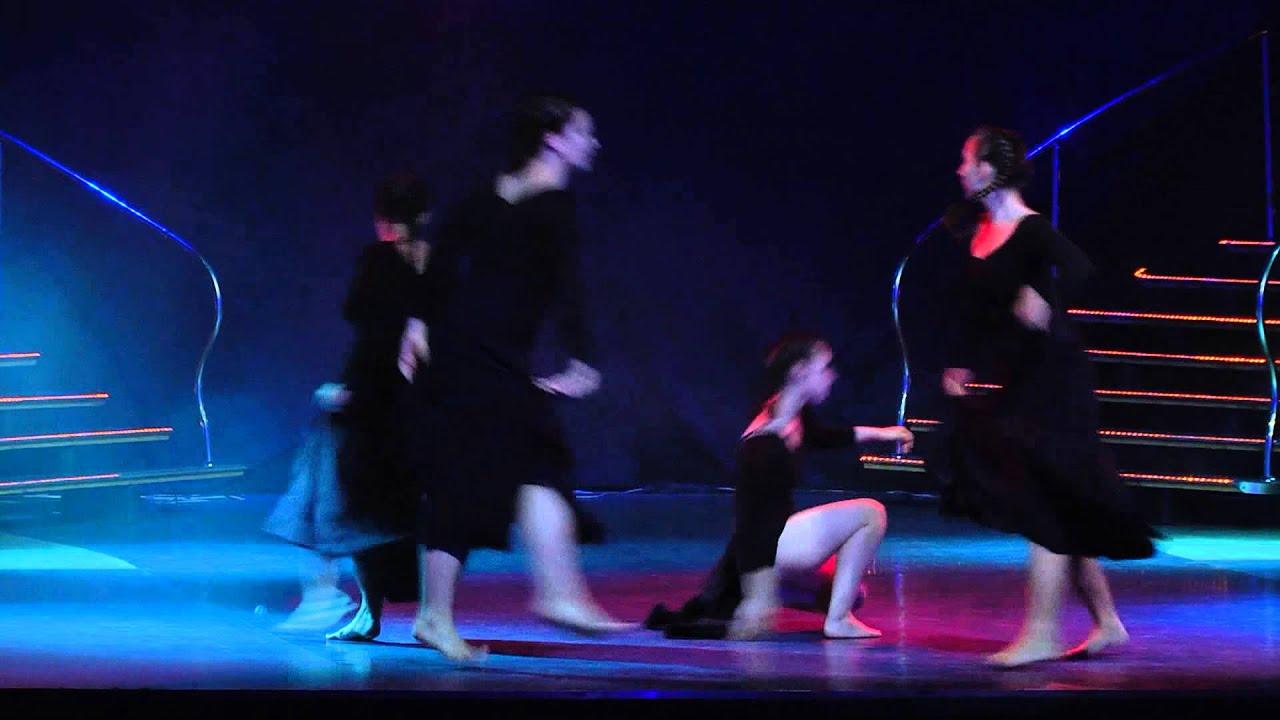 Летний отчетный концерт танцевальной школы DIVA Studio в Гигант-холле 08.06.2014 года. Видео Контемпорари.