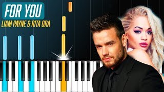 "Download Lagu Liam Payne & Rita Ora - ""For You"" Piano Tutorial - Chords - How To Play - Cover Gratis STAFABAND"
