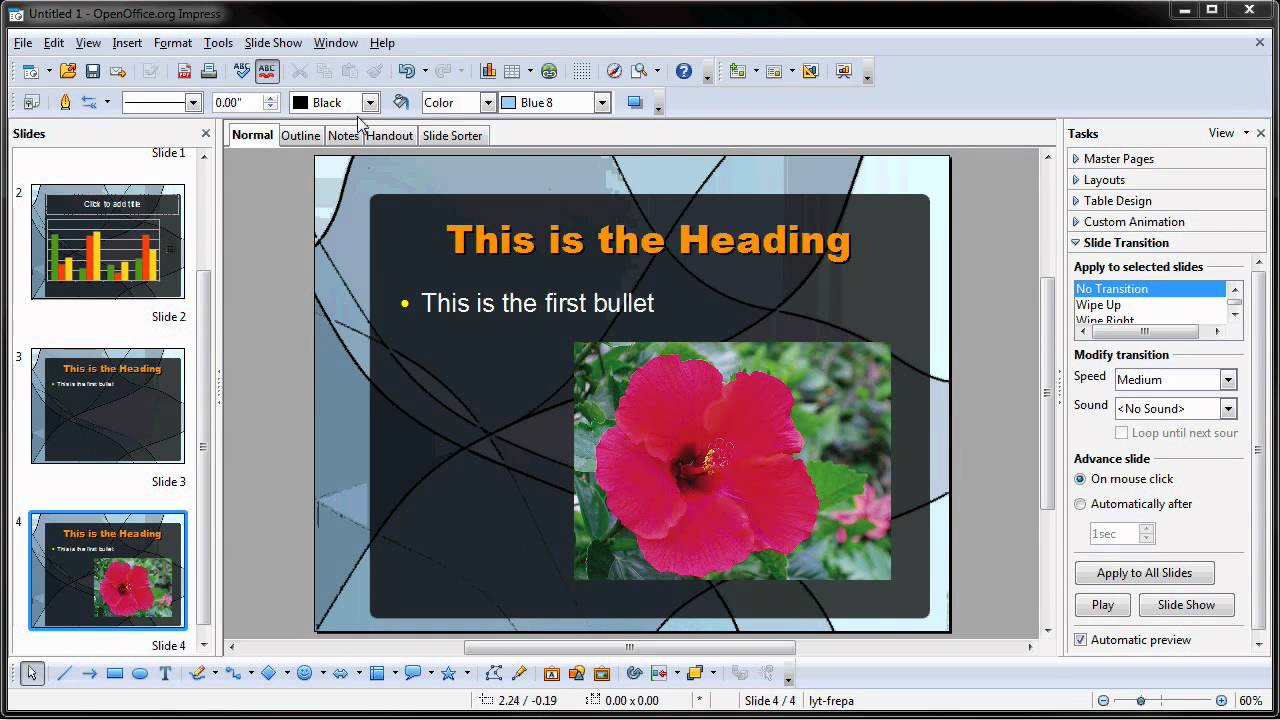 Interactive powerpoint presentations