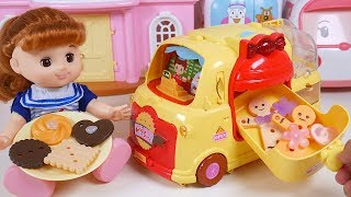 Baby Doll Cookies Car Gingerbread Man Cooking Time Toy Soda