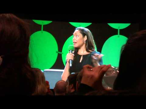 ECCC 2015 - Gina Torres on Hannibal and working with Laurence Fishburne